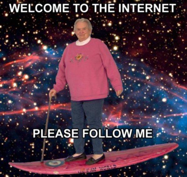 Добро пожаловать в Интернет